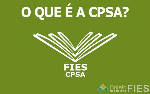 CPSA FIES