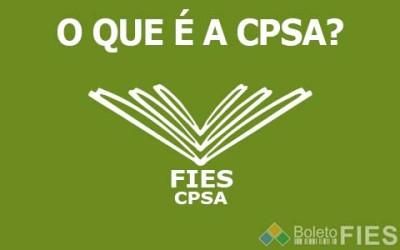 O que é a CPSA?